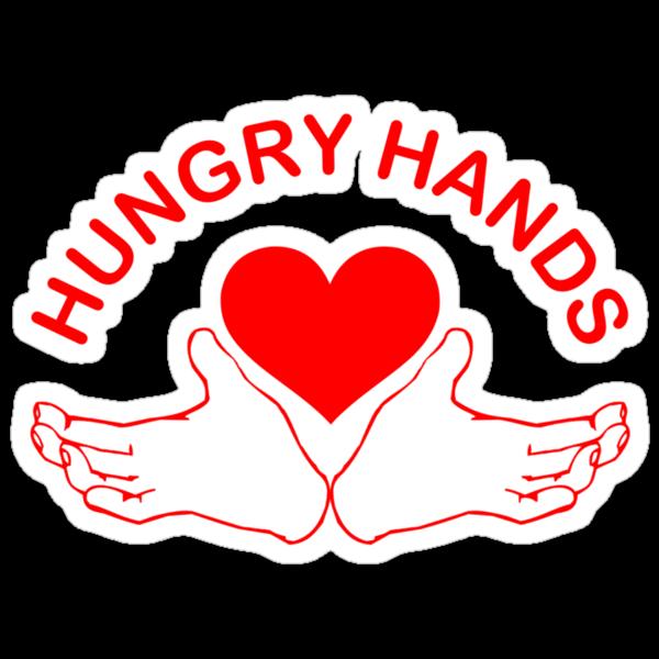 Hungry Hands by waywardtees