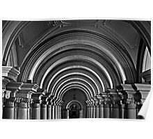 Arches of the Hermitage Poster