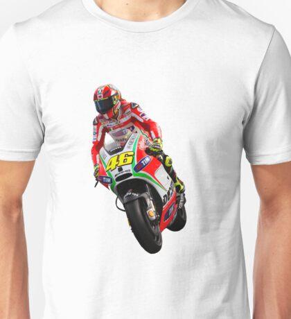 Valentino Rossi in Jerez 2012 Unisex T-Shirt