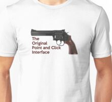 Point and click Unisex T-Shirt