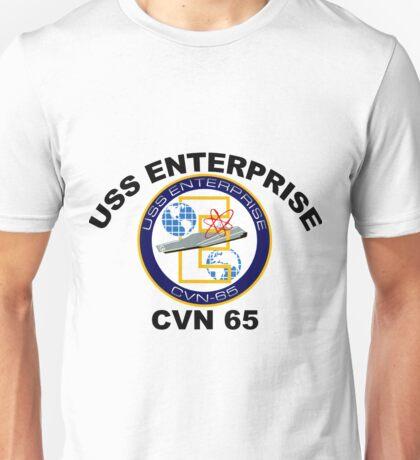 USS Enterprise (CVN-65) Unisex T-Shirt