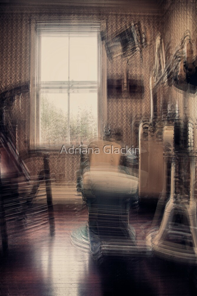 Take a seat Mr Jones, the dentist will be with you in a moment... by Adriana Glackin