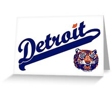 Detroit! Greeting Card