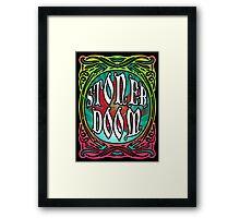 STONER DOOM (style of music) Framed Print