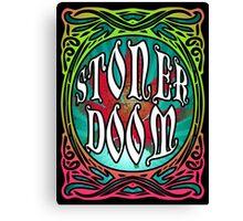 STONER DOOM (style of music) Canvas Print