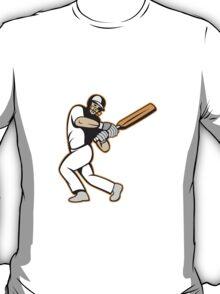 Cricket Player Batsman Batting T-Shirt
