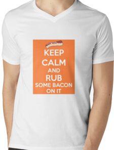 Rub Some Bacon on It  Mens V-Neck T-Shirt
