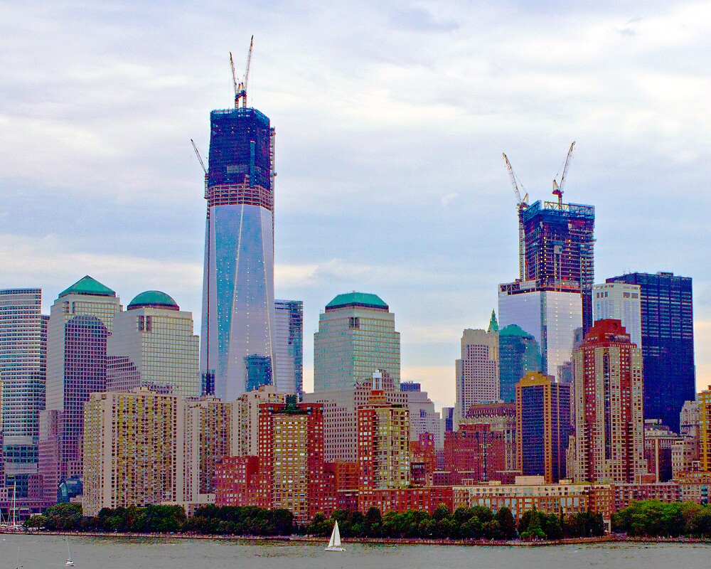 Trade Center Tower. by photographist