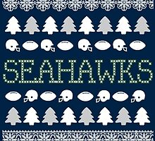 Seattle Seahawks Ugly Christmas Costume. by sports-tees