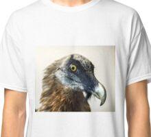 Stuffed wild bird head in museum of nature Classic T-Shirt