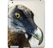 Stuffed wild bird head in museum of nature iPad Case/Skin