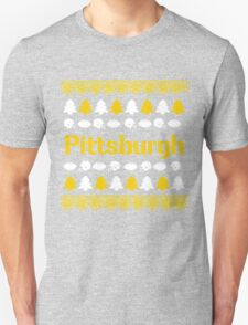 Pittsburgh Steelers Ugly Christmas Costume. Unisex T-Shirt