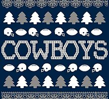 Dallas Cowboys Ugly Christmas Costume. by sports-tees