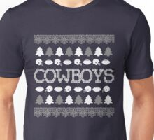 Dallas Cowboys Ugly Christmas Costume. Unisex T-Shirt