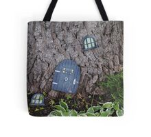 Storm Knocks Out Window Tote Bag