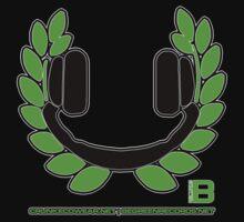 HEADPHONE WREATH - JULY 2012 MERCH - CRUNKECOWEAR.NET BEGREENRECORDS.NET Kids Clothes