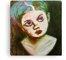 child green Canvas Print