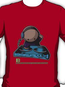 SIMPLE-CARTOON-DJ-GUY - JULY 2012 MERCH - CRUNKECOWEAR.NET BEGREENRECORDS.NET T-Shirt