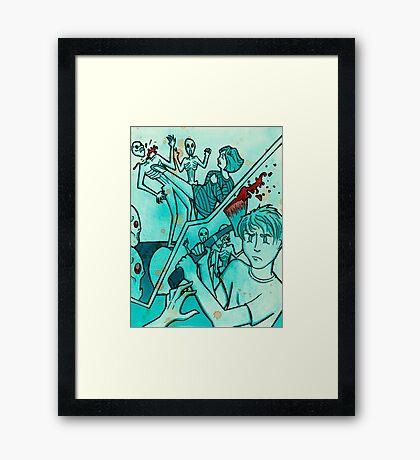 Massacre Framed Print