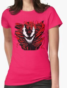 Carnage Womens Fitted T-Shirt