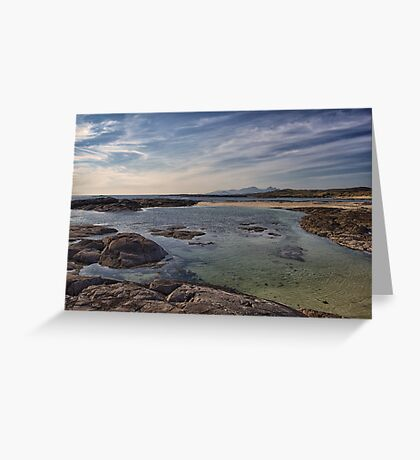 Sanna Bay, Ardnamurchan Greeting Card