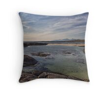 Sanna Bay, Ardnamurchan Throw Pillow