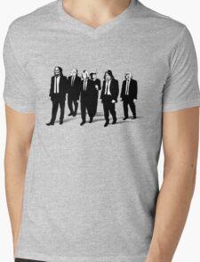 RESERVOIR FOES b&w Mens V-Neck T-Shirt