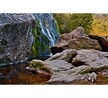 Powerscourt Waterfall, Wicklow, Ireland. Photographic Print