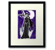 Doom Raven Framed Print