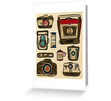The History of the Camera Greeting Card