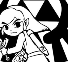 Link and Triforce Sticker