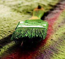 Bristles of Color by James Nagy