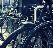 Bike Rack, Amsterdam by Reepy