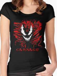 Carnage Women's Fitted Scoop T-Shirt