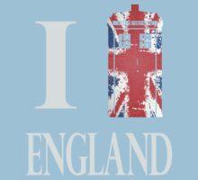 I Who? England! Kids Tee