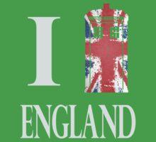 I Who? England! Baby Tee