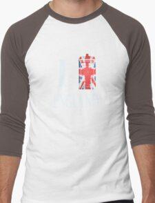 I Who? England! Men's Baseball ¾ T-Shirt