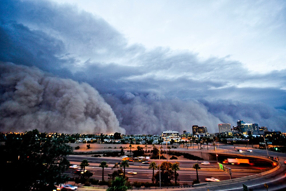 The Phoenix Haboob of July 5th, 2011 by Mike Olbinski