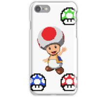 Pixel Toad iPhone Case/Skin