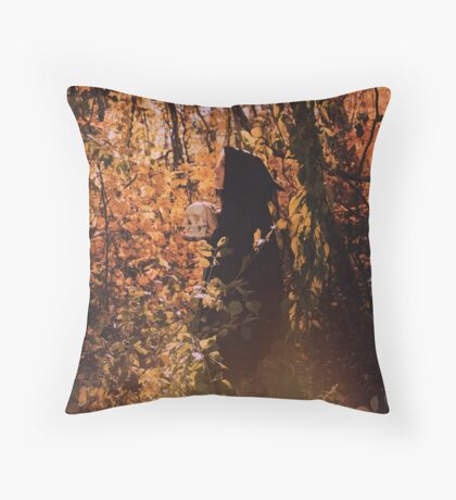 Birth of Decay Throw Pillow
