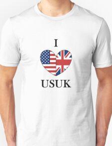 I Heart USUK Unisex T-Shirt