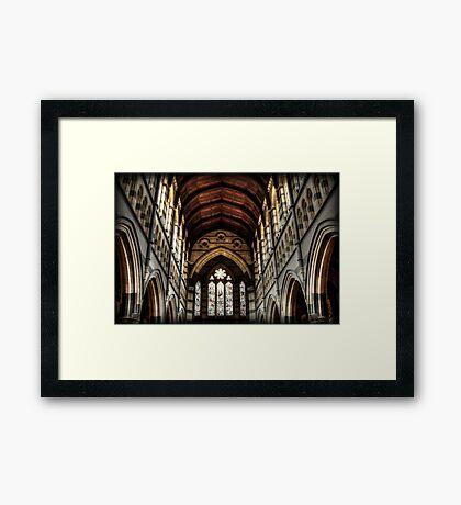~ gothic faith ~ Framed Print