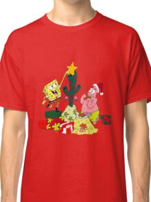 Merry Christmas From Spongebob Classic T-Shirt