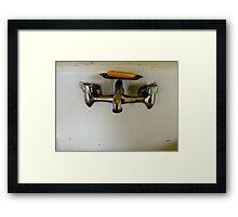 Clean Minimalism  Framed Print