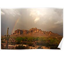 There's Gold at the End of the Rainbow Poster