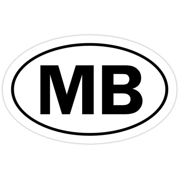 MB - Oval Identity Sign by Ovals