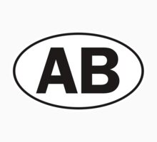 AB - Oval Identity Sign by Ovals