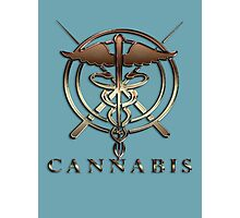 Weed cannabis health drug gifts  Photographic Print
