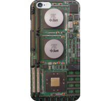 Retro Circuits #5 Big Iron iPhone Case/Skin