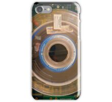 Retro Circuits #6 Real Tape iPhone Case/Skin